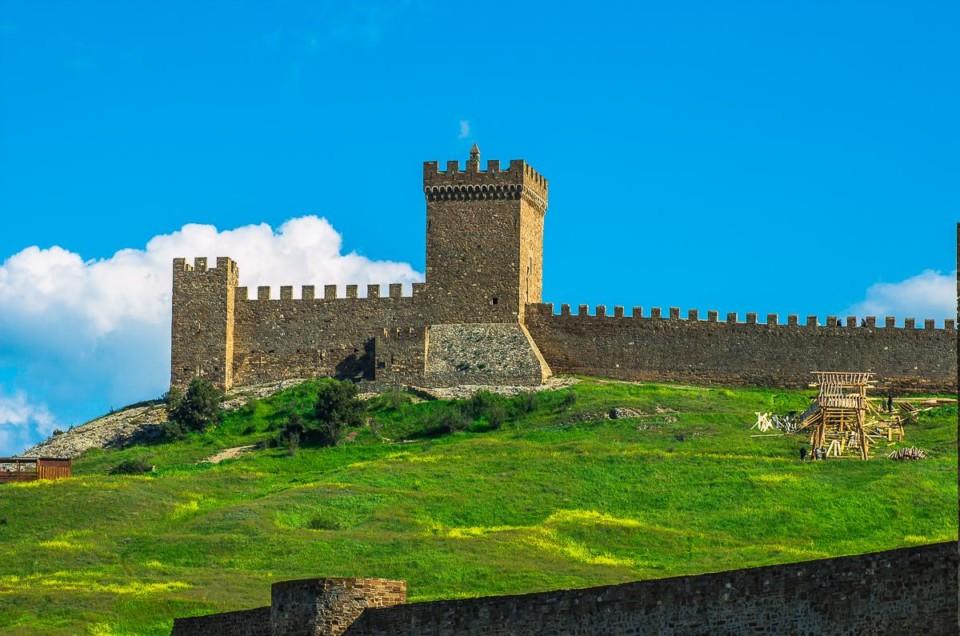 Генуэзская крепость Судака и очень много фоток.