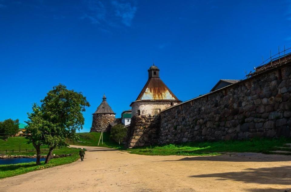 Соловецкий Кремль, часть первая. Военная крепость