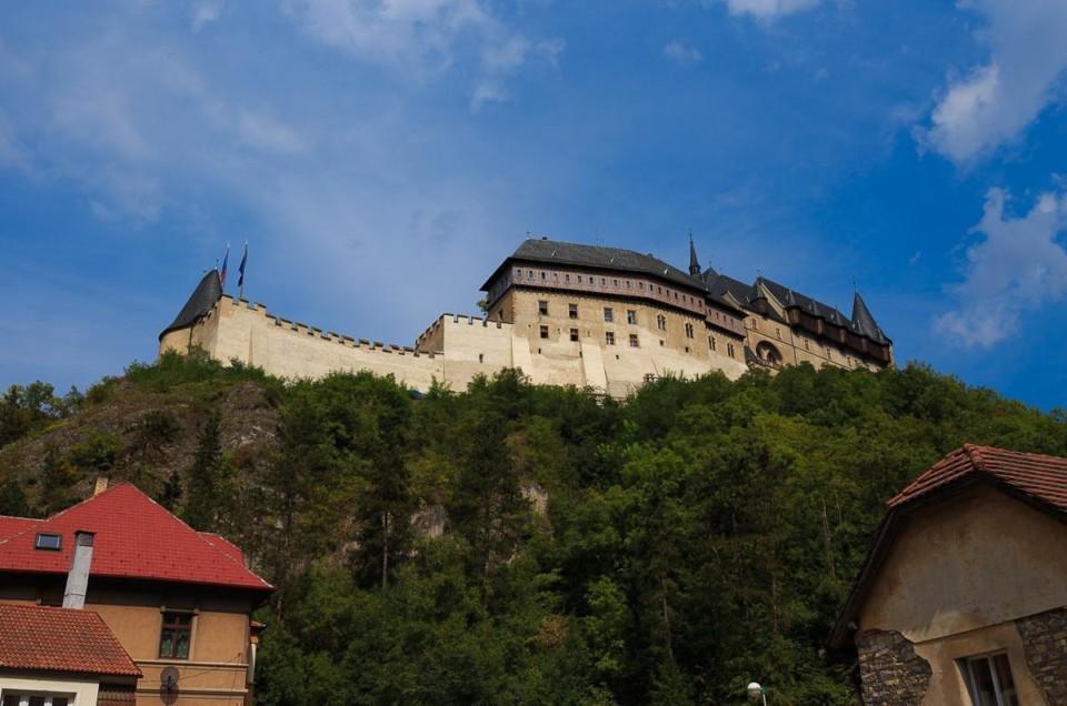 Чешские замки. Карлштейн.