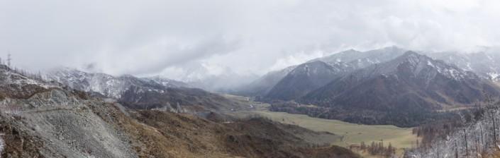 Туманы на перевале Чике-Таман.