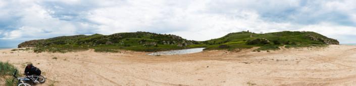 Чёрные грязи и белоснежные пляжи Крыма.